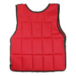 Bionic Body 15 lb. Weighted Vest brings added weight to your run or workout - use it to condition and tone your body - back