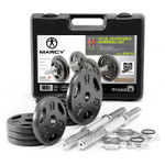 The Iron 40 Lb. Adjustable Dumbbell Set with Case - Main Image