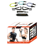 The Bionic Body Resistance Band Kit includes everything you need to get a total body workout