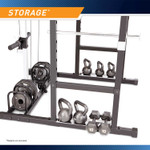 Conveniently store your plates on the MWM-7041 plate storage area