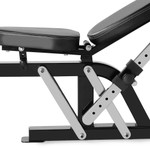 The Marcy Power Rack PM-3800 has an adjustable seat to fit any person