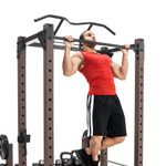 The Monster Rack SteelBody STB-98005 in use - pull ups