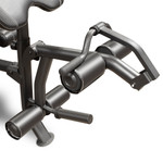 The Marcy Diamond Mid Size Bench MD-867W comes with a leg developer to deliver a full body workout
