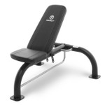 The Marcy Utility Bench SB-10900 adds variety to your workout with incline, flat and Military positions