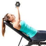 Marcy Deluxe Utility Weight Bench SB-350 - Incline Bench Press