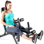 Marcy Deluxe Utility Weight Bench SB-350 - Leg Extensions