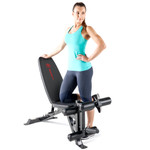 Marcy Deluxe Utility Weight Bench SB-350 with Model