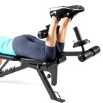 Marcy Deluxe Utility Weight Bench SB-350 - Leg Curls