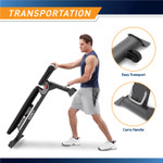 Adjustable Utility Bench  Marcy SB-670 - Infographic - Moving Bench with Handle and Wheels