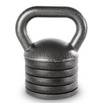 The 50 lbs. Apex Adjustable Kettle Bell will add variety to your HIIT conditioning workout!