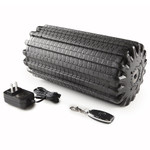 The Bionic Body Rechargeable Vibrating Recovery Foam Roller Massager - BBVYP includes charge and remote control