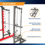 Marcy Pro Smith Cage Home Gym Training System | SM-4903