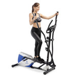 marcy magnetic elliptical trainer ME-1017E in use