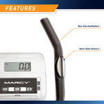 marcy magnetic elliptical trainer ME-1017E Pulse Monitor on Handles