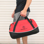 Go to the gym or travel to new places with your convenient and large Marcy Duffel Bag