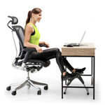Marcy Portable Mini Magnetic Cardio Cycle for Home Gym and Office Use - NS-914 Under Desk