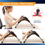Marcy Portable Mini Magnetic Cardio Cycle for Home Gym and Office Use - NS-914 adjustable pedals