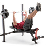 marcy adjustable olympic weight bench MWB-4811 flat bench press