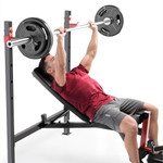 marcy adjustable olympic weight bench MWB 4811 incline bench press