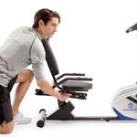 marcy magnetic recumbent bike ME-1019R adjusting seat