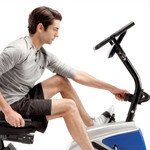 marcy magnetic recumbent bike ME-1019R adjusting tension with resistance knob