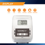marcy foldable magnetic rower ME-1018RE large LCD digital computer display
