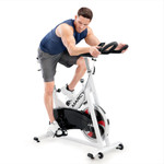 marcy club trainer exercise bike NSP-490 in use by model