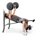 competitor pro 100lb standard bench CB-5573 with model incline bench press