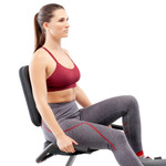 Marcy Adjustable Magnetic Resistance Recumbent Bike NS-1206R Back Pad Handle Bars with model