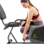 Marcy Adjustable Magnetic Resistance Recumbent Bike NS-1206R Seat Moves Forward Backward  with Model