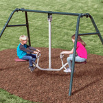 Tilt-A-Swing Swings Forward Backward Sideways 360 Gym Dandy GD-6662 with Kids-1