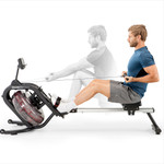 Marcy Indoor Water Rowing Machine  Marcy NS-6023RW in use by Model