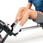 Marcy Indoor Water Rowing Machine  Marcy NS-6023RW - Large Pedals with Safety Straps