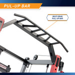 Marcy Smith Machine  Cage System with Pull-Up Bar and Landmine Station  SM-4033 - Multi-Grip Pull Up Bar