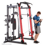 Marcy Smith Machine  Cage System with Pull-Up Bar and Landmine Station  SM-4033 - Upper Pulley