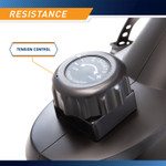 Marcypro Dual Action Cross Training Recumbent Exercise Bike with Arm Exercisers  Marcypro JX-7301 - Resistance Knob Infographic