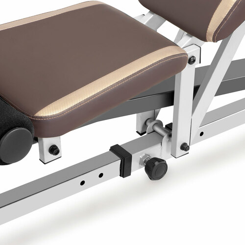 Marcy MD-9010G Smith Machine Home Gym - Adjustable Bench Back and Seat Pad