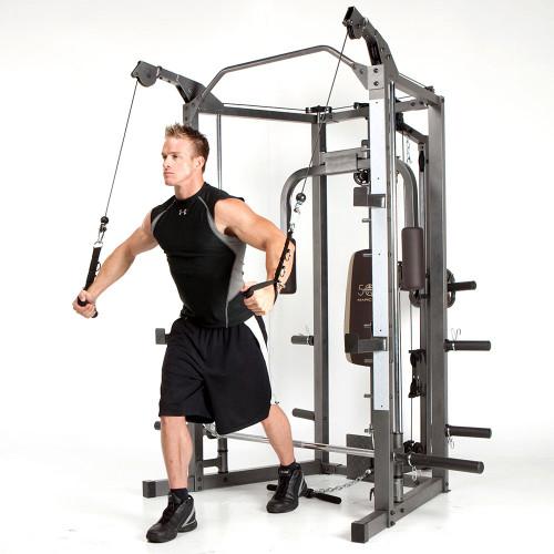 Best home gym smith machine marcy pro