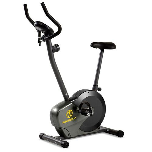 The Upright Magnetic Bike NS-714U by Marcy delivers a convenient way to quickly get your cardio workout everyday