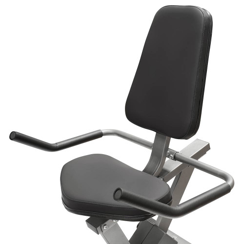 4313cbbf873 ... The Recumbent Bike NS-40502R by Marcy has thick padding for extended  riding workouts ...