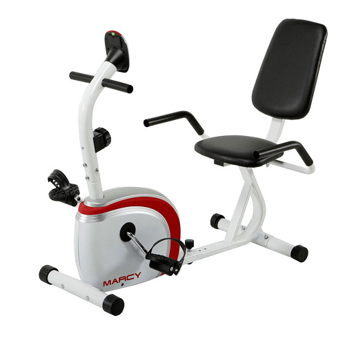 The Marcy Recumbent Bike NS-908R will help you burn fat quickly
