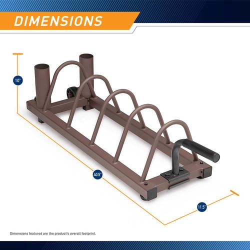 Horizontal Plate Rack SteelBody STB-0130  - Dimensions