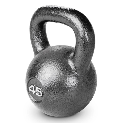 45 lbs. Hammertone Kettle Bell to optimize your HIIT conditioning workout!