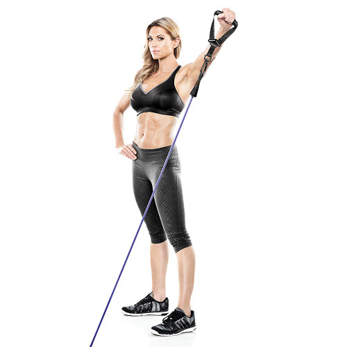 Heavy Duty Bionic Body 40 lb. Resistance Band in use by Kim Lyons