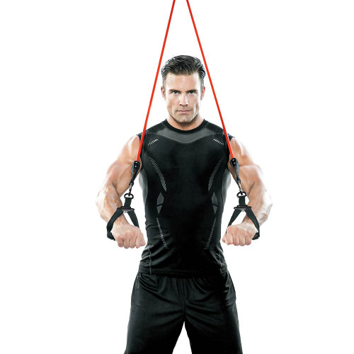 Heavy Duty Bionic Body 60 lb. Resistance Band in use