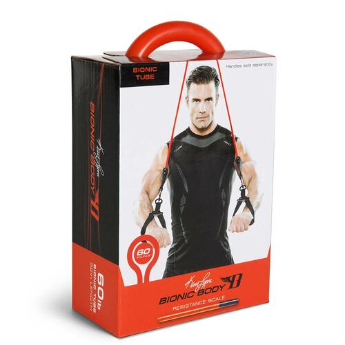 Long lasting Bionic Body 60 lb. Resistance Band Inside of the package