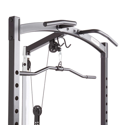 The Marcy Cage Home Gym MWM-7041 is built with a solid steel construction design