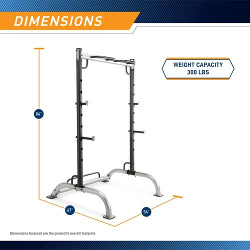 The Power Rack MWB-70500 - Dimensions