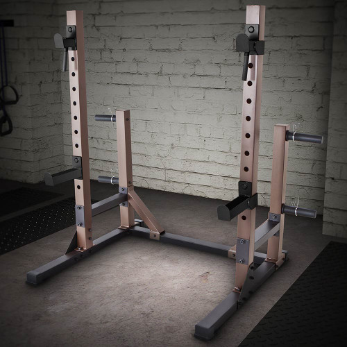 The Squat Rack Base Trainer SteelBody STB-70105 is essential for any home gym