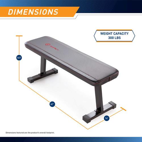 Utility Flat Bench | Marcy SB-315